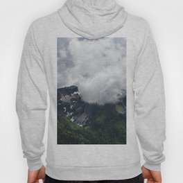 Clouds covering mountains Hoody