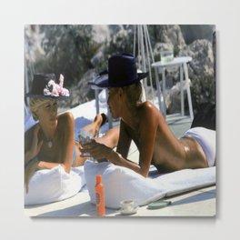 Cap d'Antibes Summer 1976 Metal Print