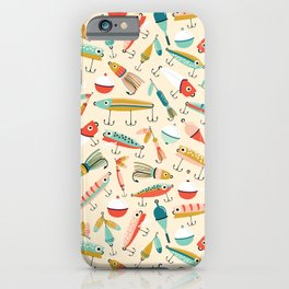 Fishing Lures iPhone Case