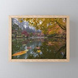 Japanese Garden Kiri Pond POV Framed Mini Art Print