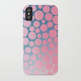 Pastel Polka Dots 2 iPhone Case