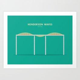Henderson Waves, Singapore [Building Singapore] Art Print