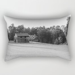 Old Tobacco Barn in the Countryside of Virginia Rectangular Pillow