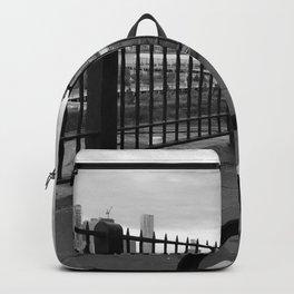 behind gates Backpack