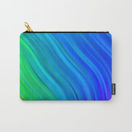 stripes wave pattern 1 stdv Carry-All Pouch