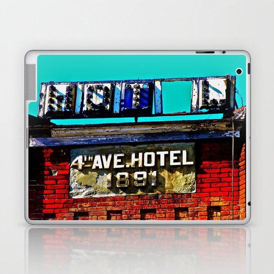 4th Avenue Hotel Laptop & iPad Skin