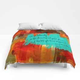 Chase Your Dreams Comforters