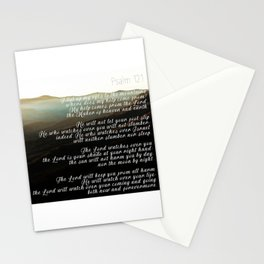 Psalm 121 Stationery Cards