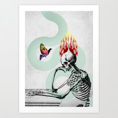 The Riddle Art Print