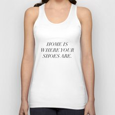The best things in life are things (sometimes) Unisex Tank Top