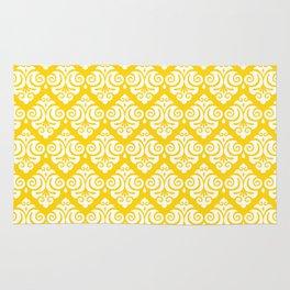 Diamond Pattern 62 Rug Yellow Rug