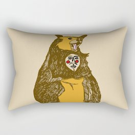 Bear Man Rectangular Pillow