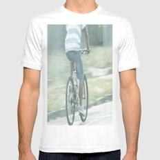 Summer Ride Mens Fitted Tee White MEDIUM