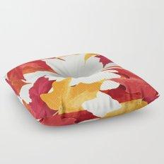 Fall Leaves Floor Pillow