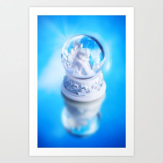 LITTLE ANGEL Art Print