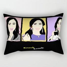 Knock Knock! Mina Version Rectangular Pillow