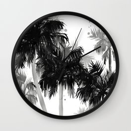 Paradis Noir II Wall Clock