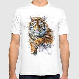 Tiger watercolor T-shirt
