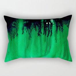 Emerald Bleed Rectangular Pillow
