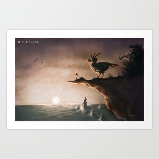"""""""I am a flightless bird…"""" Art Print"""