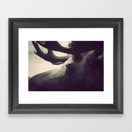 Get Stuffed Framed Art Print