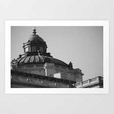 In The District  Art Print
