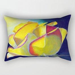 Solitary Rose Rectangular Pillow