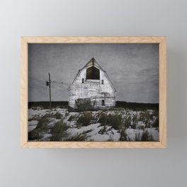 Winters come and winters go. Framed Mini Art Print