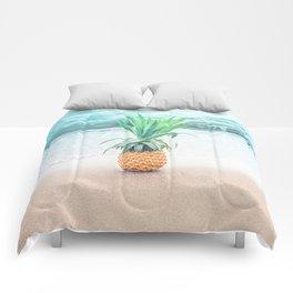Happy Pineapple Comforters