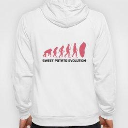 Sweet Potato Evolution Shirt Gift Hoody