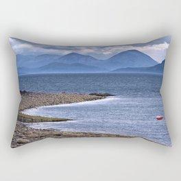 Over the Sea to Skye Rectangular Pillow