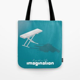Never Forget to Play - Piano Tote Bag