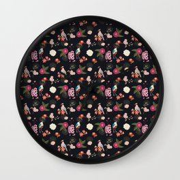 Eastern delight Japanese garden Wall Clock