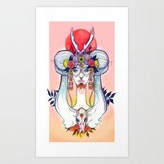 Hooves & Hammer Art Print