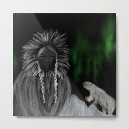Eskimo-woman Metal Print