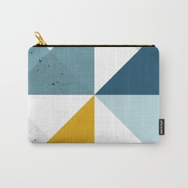 Modern Geometric 18 Carry-All Pouch