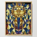 Golden Tutankhamun - Pharaoh's Mask by xooxoo