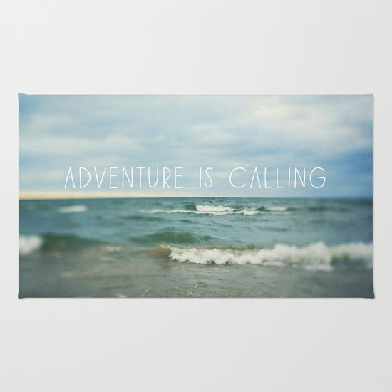 Adventure is Calling - Waves Rug