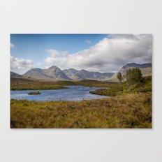 Lochan na h-Achlaise Canvas Print