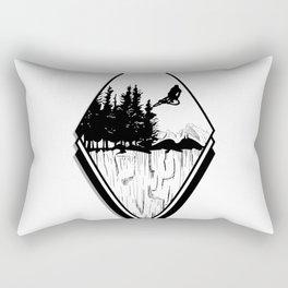MTB Jump Rectangular Pillow