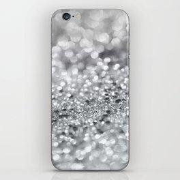 Silver Gray Lady Glitter #1 #shiny #decor #art #society6 iPhone Skin