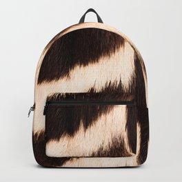 Zebra - zebra stripes -zebra skin - genuine - beautiful  Backpack