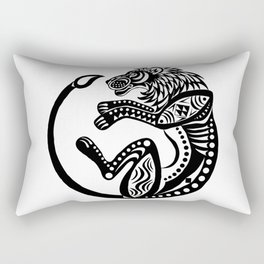 Afro Lion Rectangular Pillow