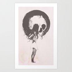 Apprehension Art Print