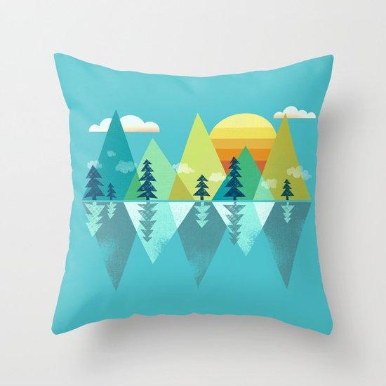 the Clarion Lake Throw Pillow