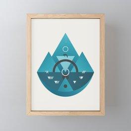 Sleeping Time Framed Mini Art Print