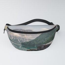 Mountain Lake Cabin Retreat Fanny Pack