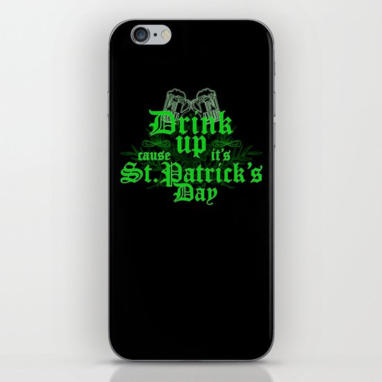 Drink Up iPhone & iPod Skin