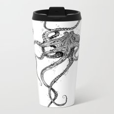 Octopus Metal Travel Mug