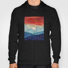 Lines in the mountains IV Hoody